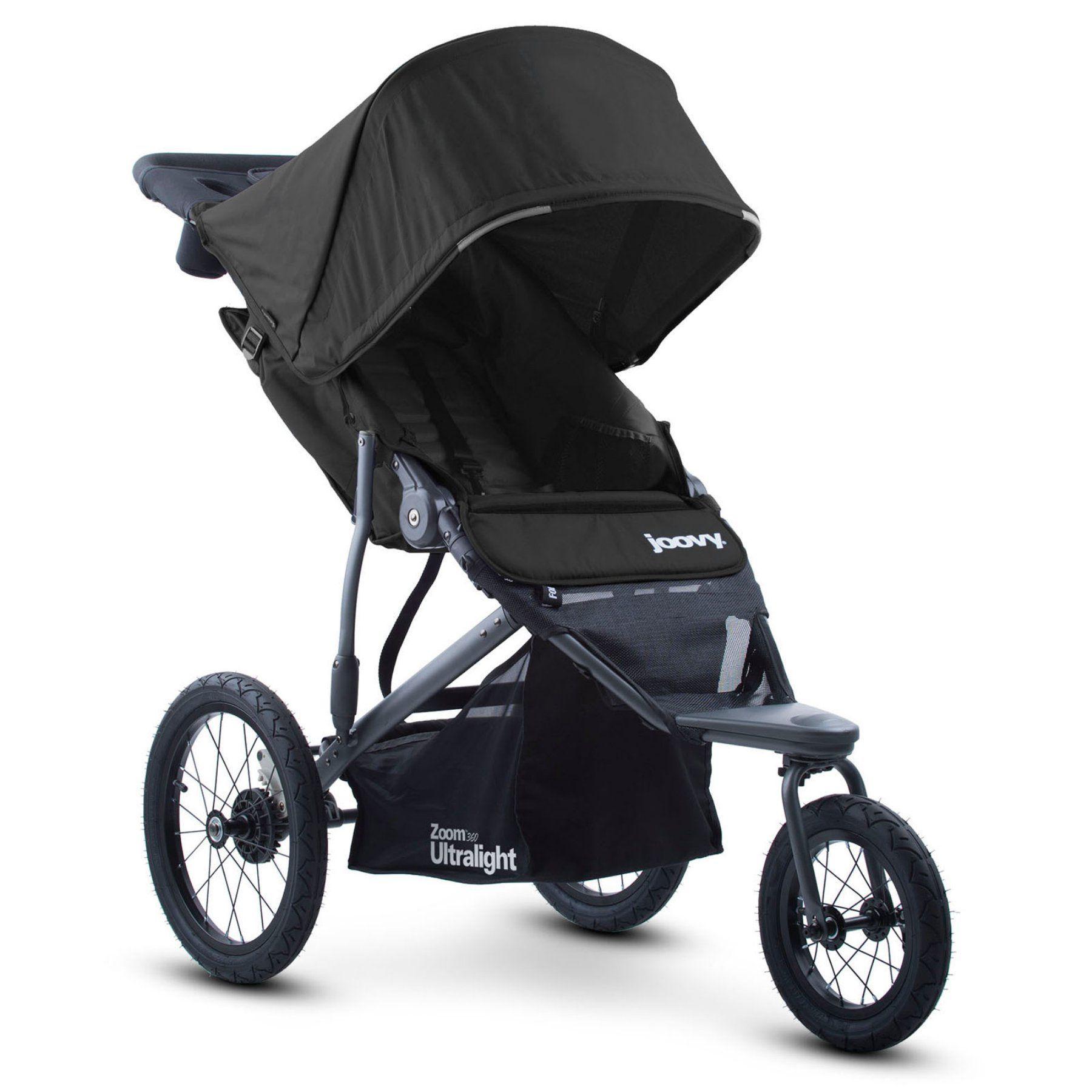 Joovy Zoom 360 Ultralight Jogging Stroller Black 8067