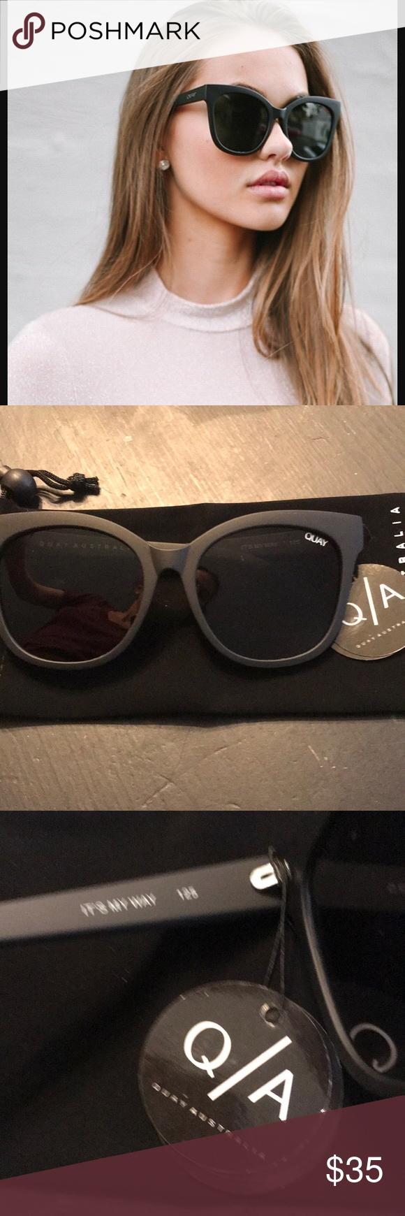 36a96de3cb0 NWT Quay It s My Way sunnies Brand new never worn. Comes with velvet Quay  drawstring case Quay Australia Accessories Sunglasses
