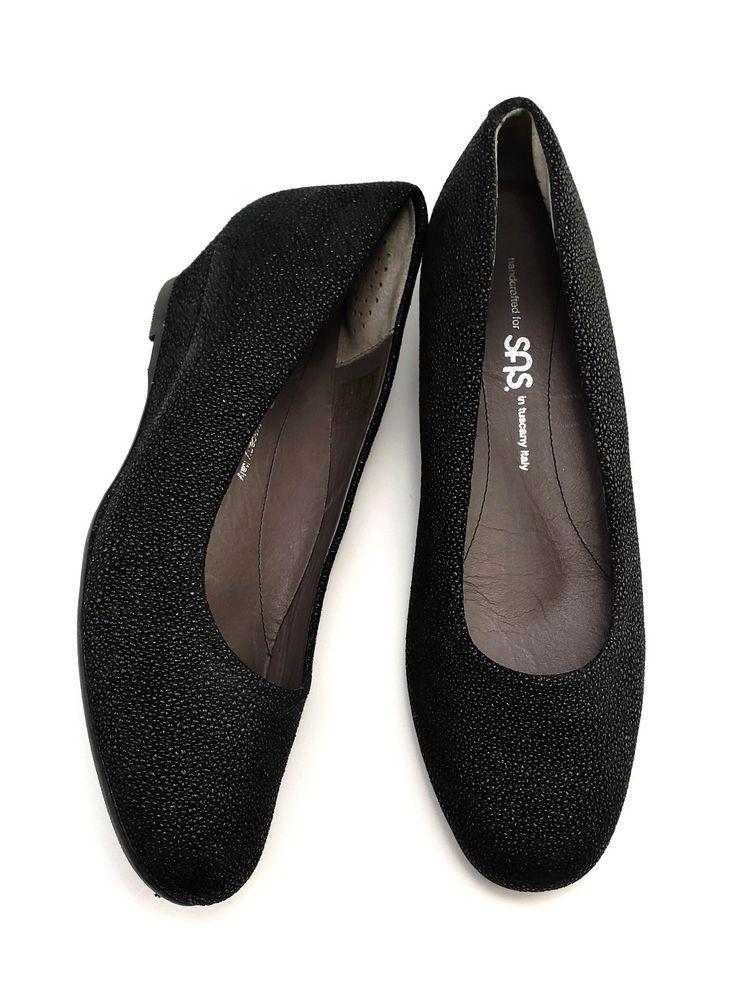 2817e5d4fa51 BLUE Saks Fifth Avenue Womens Shoes Nude Leather Ballet Flats Size ...