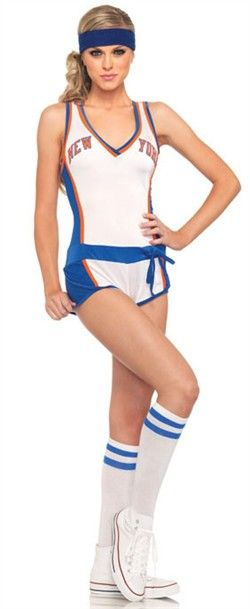 """Sexy New York Knicks Official Players Female Outfit Costume """"2037C - N83970"""""""