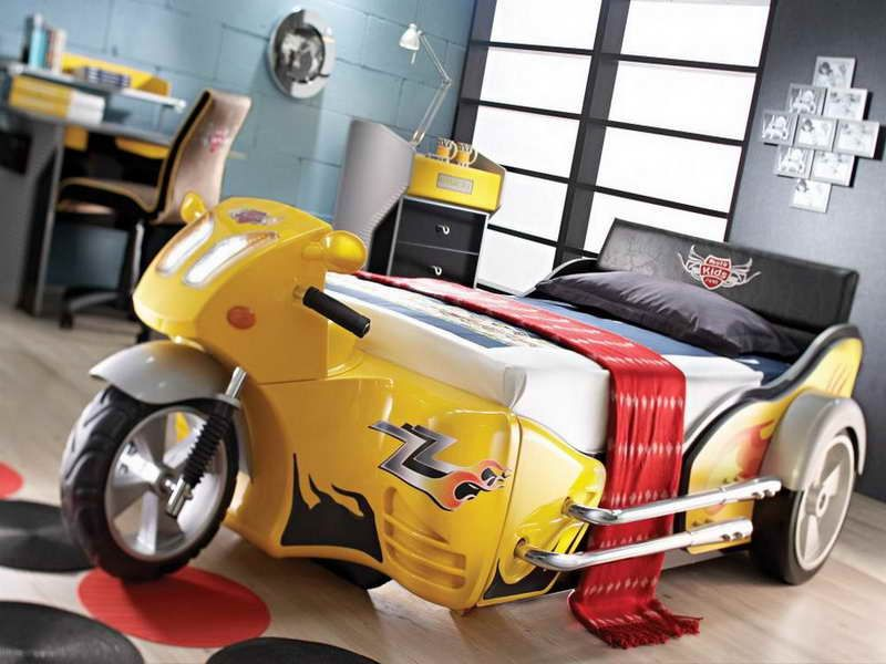 Best Car Beds For Boys With Yellow Color Boys Bedding Diy 640 x 480