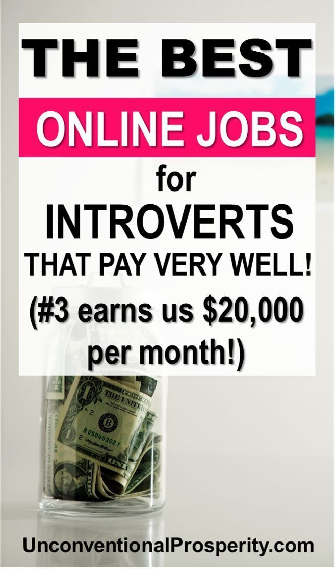 The Best Online Jobs for Introverts That Pay Well