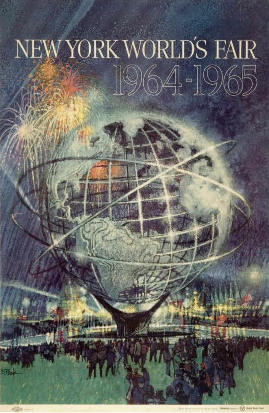 New York World's Fair 1964 (1962) Illustrator Bob Peak