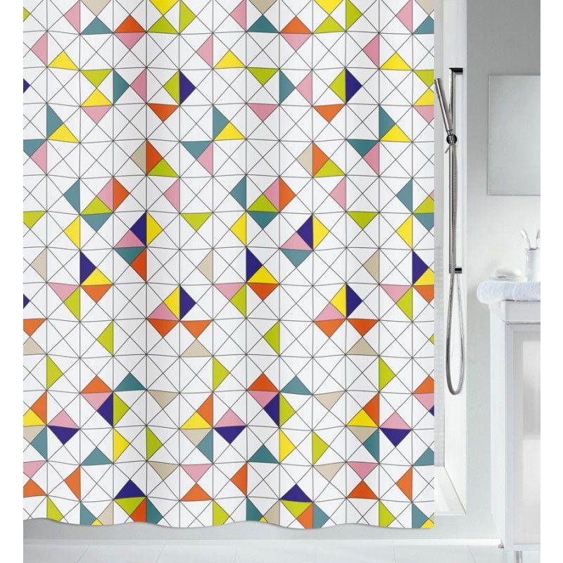 Textil Duschvorhang Spirella Kleen Duschvorhang Dusche
