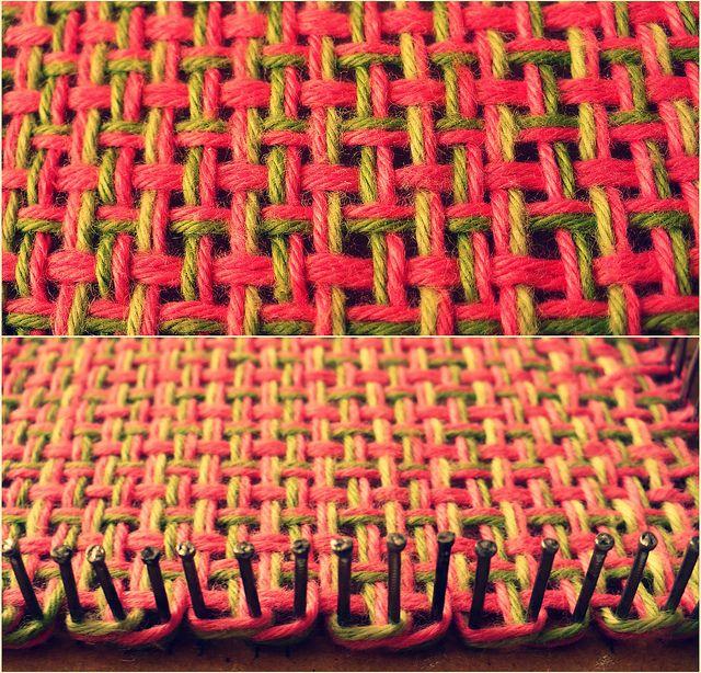 Loom Knitting | Telar, Tejido y Tapices
