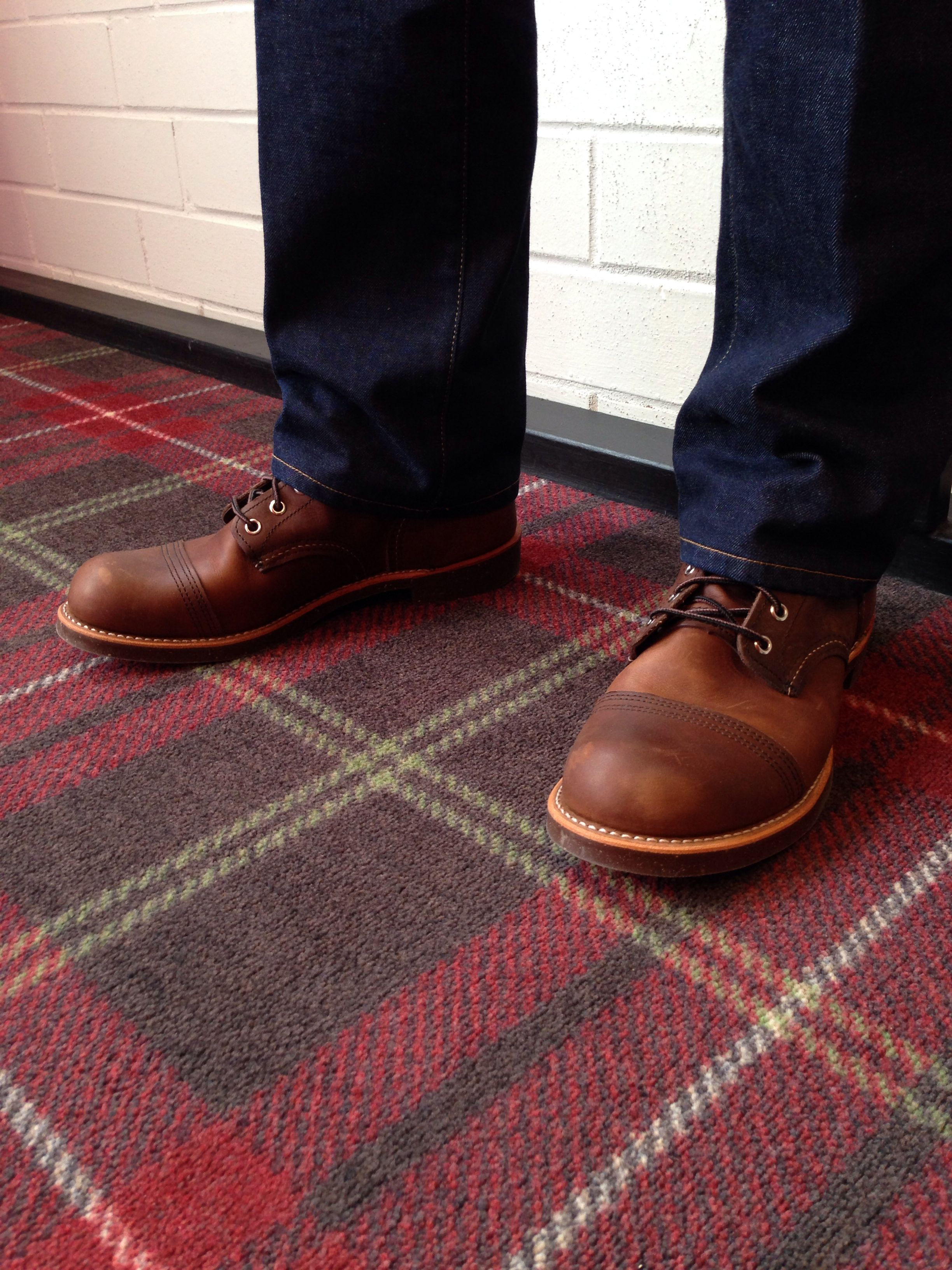 Red Wing Shoes Iron Ranger Boot Imogene Wille Jeans
