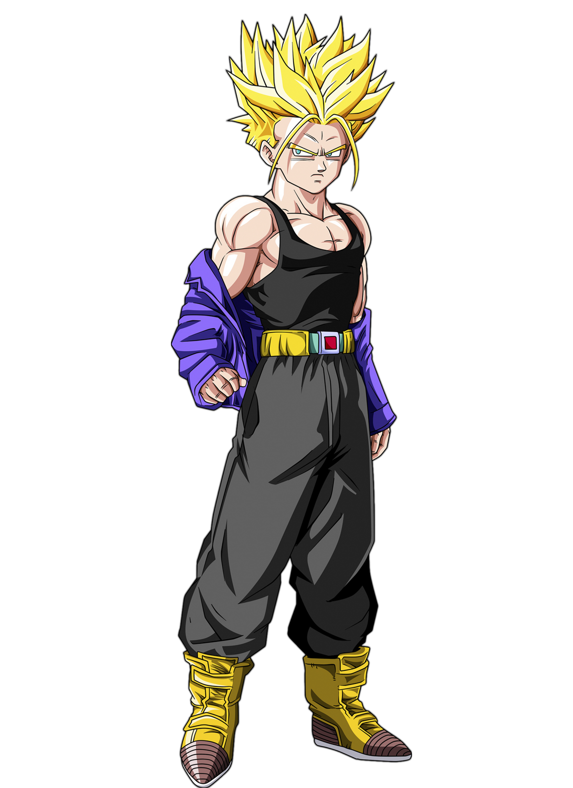 mirai trunks ssj no jacket dragon ball z pinterest dragon