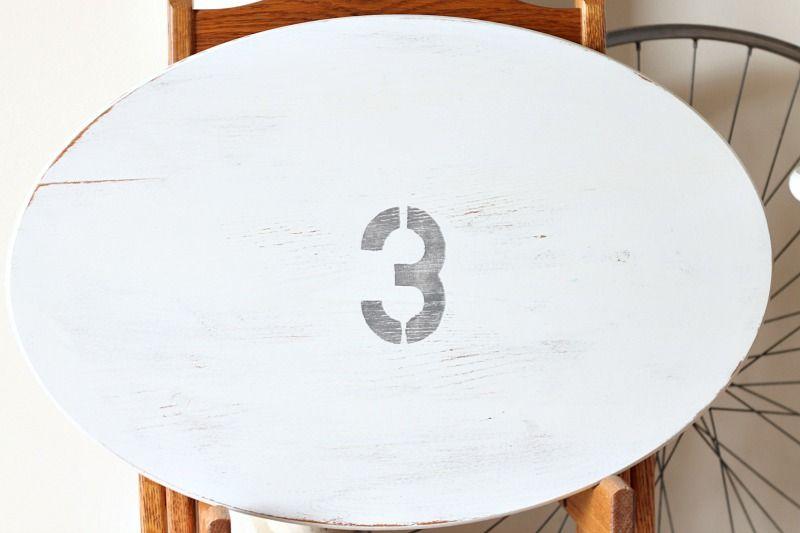Farmhouse Style TV Tray Tables 3