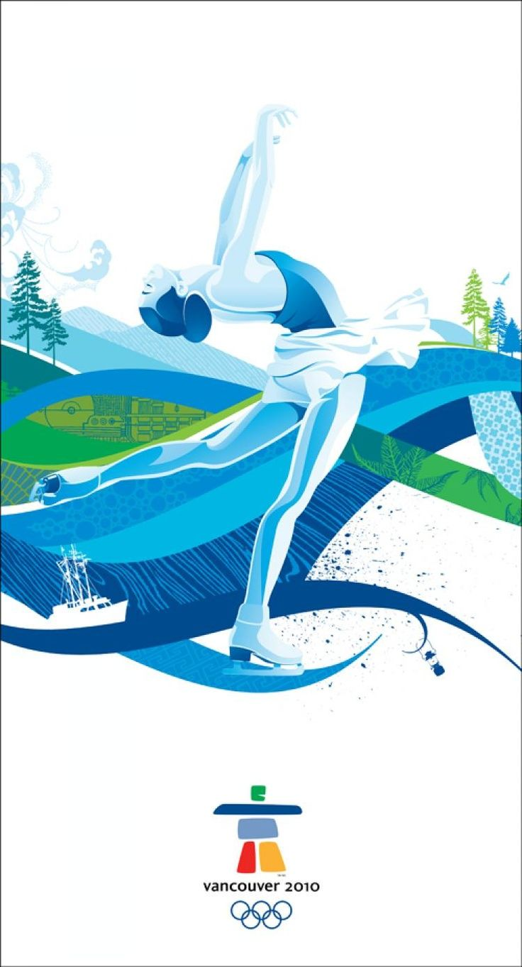Poster design vancouver - Vancouver Winter Olympics Poster Art