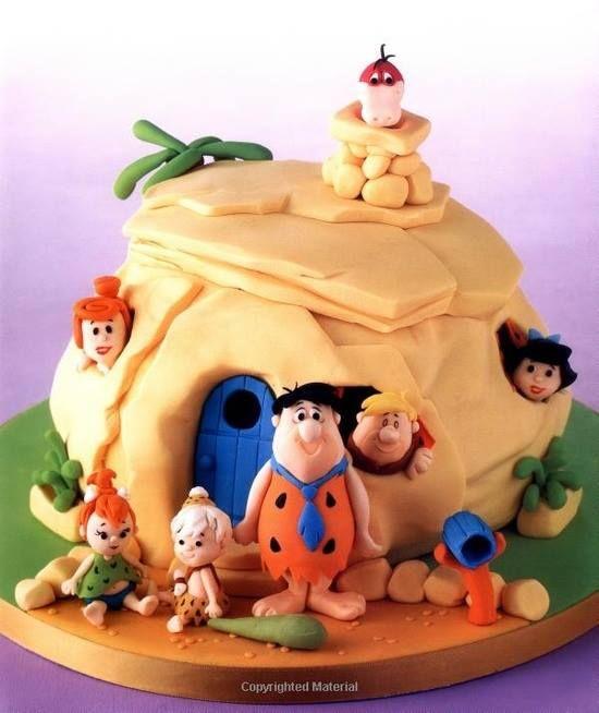 Flintstones Cake Have A Yabadabadue Time For More Amazing Kids