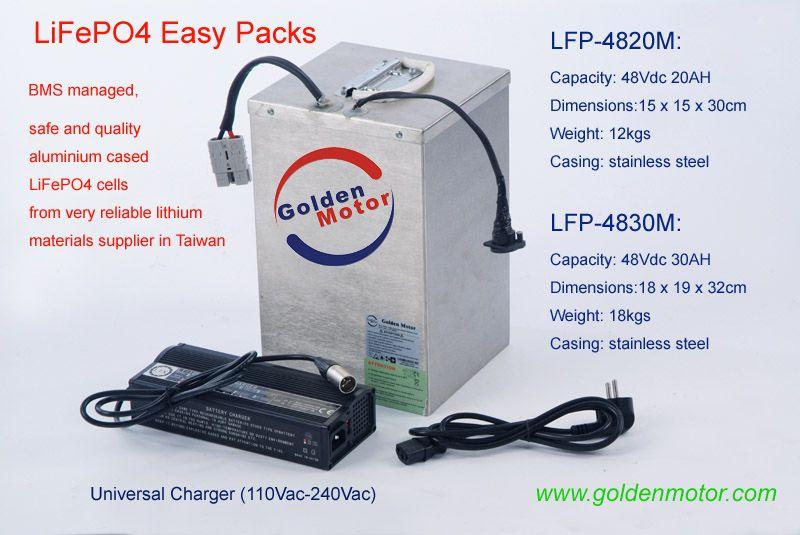 LiFePO4 Battery Packs, EV Battery, EV Battery Packs