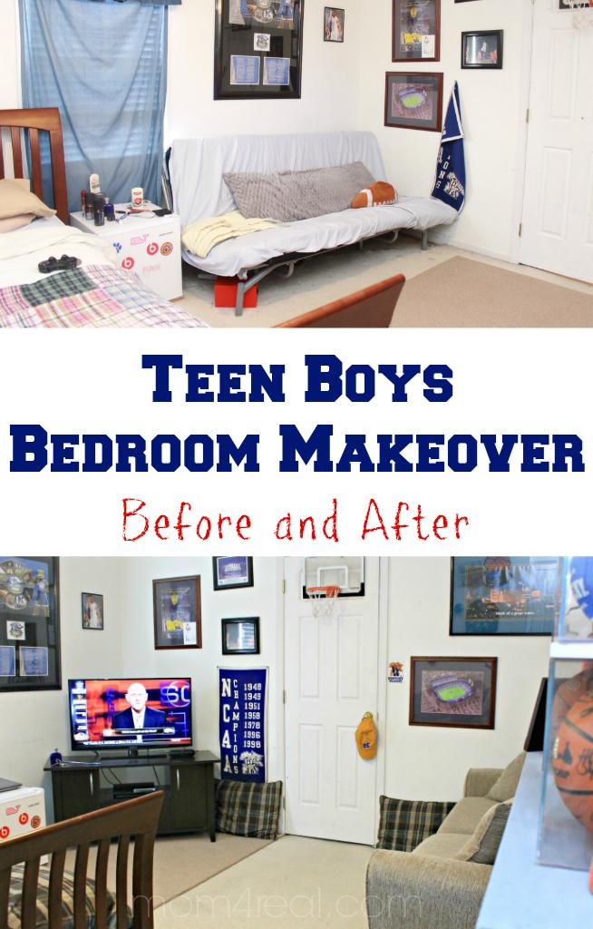 Boy S Bedrooms Ideas: Cam's Teen Boys Bedroom / Hangout Room Makeover