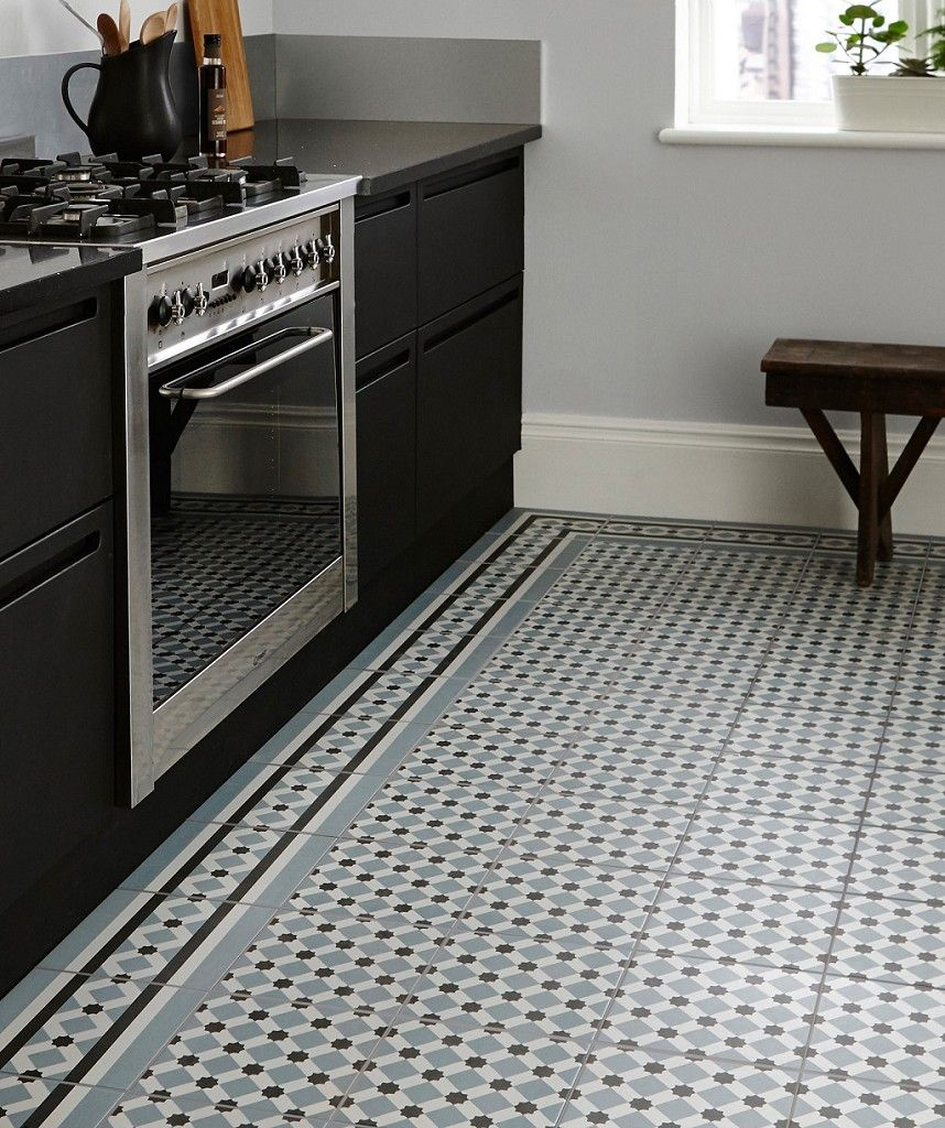 Kitchen And Hallway Flooring: Henley Ice Tile™