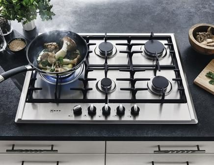Neff T27ds79n0 75cm Stainless Steel Gas Hob Hobs Gas Hob Kitchen Diner