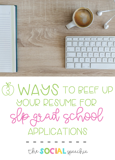 3 Ways To Beef Up Your Resume For Grad School If Your Gpa Is Not Stellar School Slp Grad School School