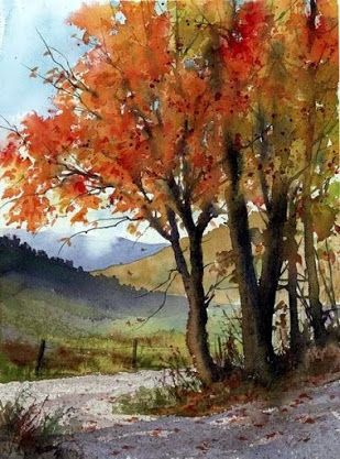 Jim Gray Landscape Paintings Watercolor Landscape Watercolor Art