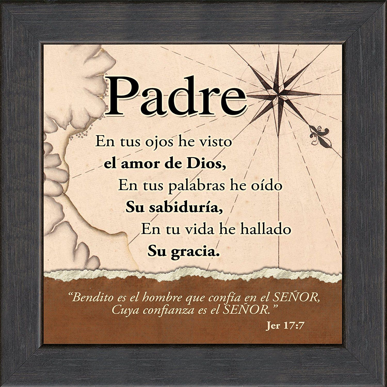 Dad Quotes From Daughter In Spanish: Spanish, Español, Father's Day Or Birthday Gift