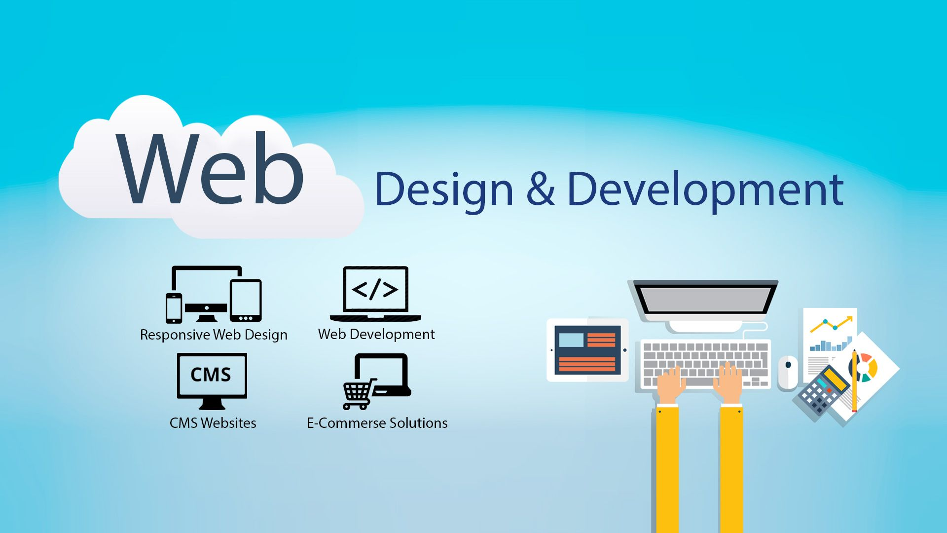 Step By Step Guide To Web Design And Development Process Web Development Design Website Design Company Web Development Company