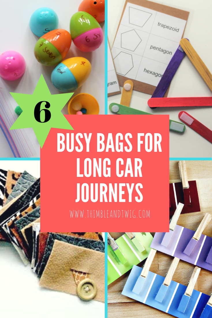 Toys for car journeys   Amazing Ideas for Busy Bags Lots of free fun printables  Good