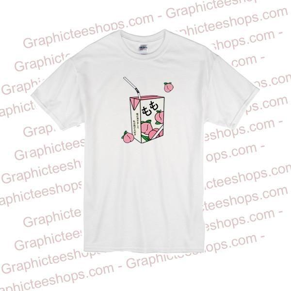 Peach Juice Japan T Shirt T Shirt Mens Tops Shirts