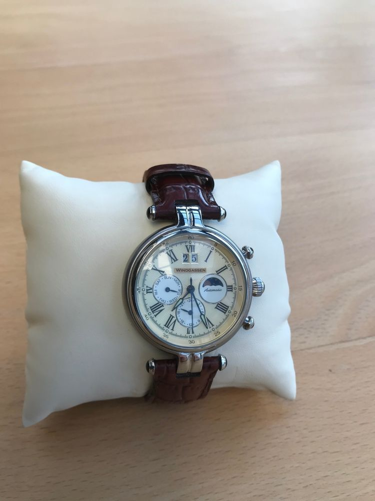 Ebay Armbanduhr Herrenuhren Elegante Windgassen Herrenuhr fgvbY67yI