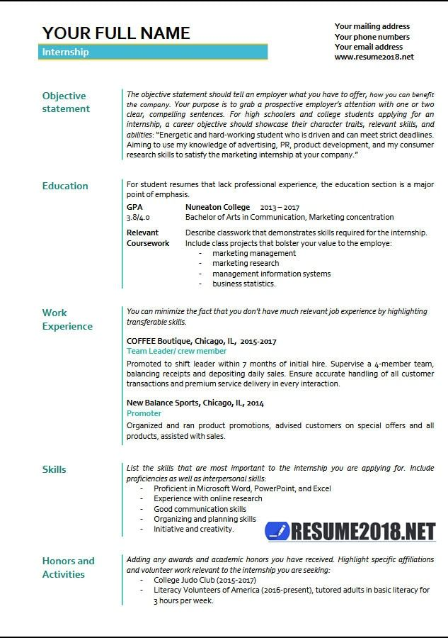 Resume Format Latest 2018 Resume Format Pinterest Resume - resume education section