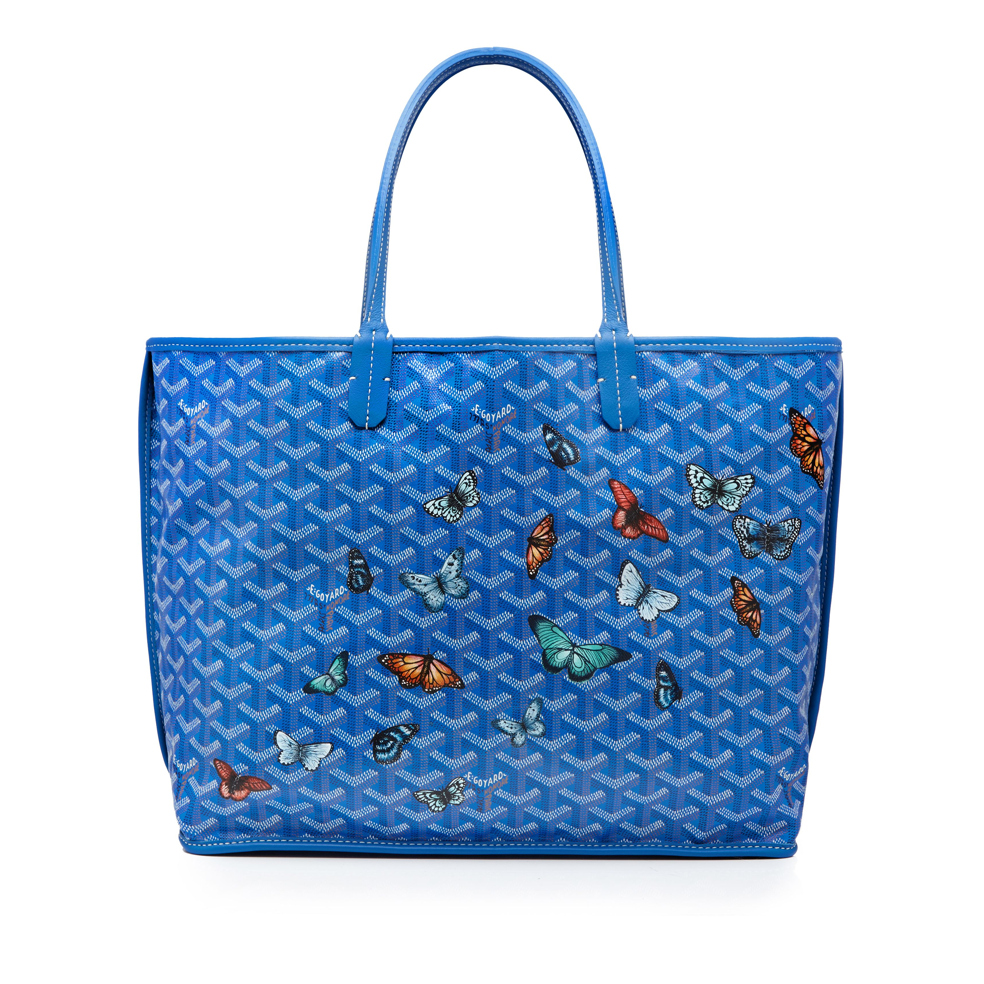 Butterflies Customised Bag Custom Bags Goyard Bag Bags
