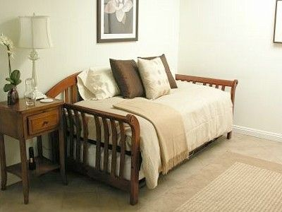 trundle frame on bedroom w daybed pop up trundle can be joined to make a king