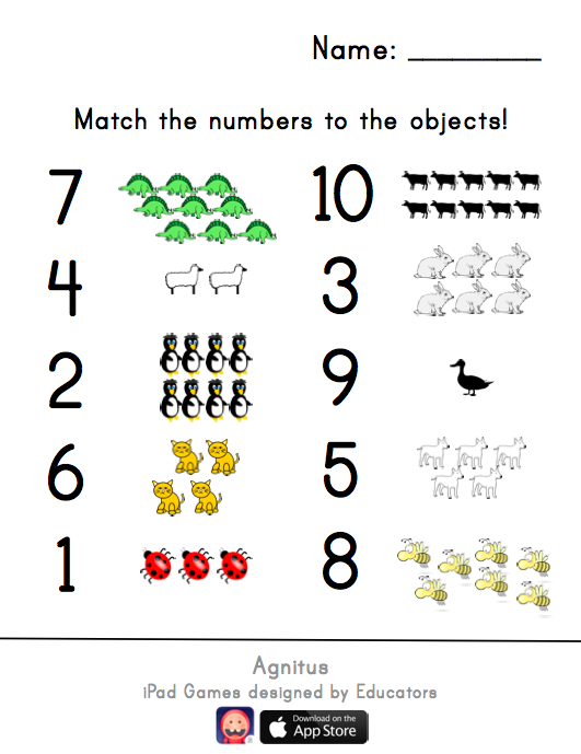 Number Sense Worksheets Kindergarten least to greatest 3 – Number Sense Worksheets