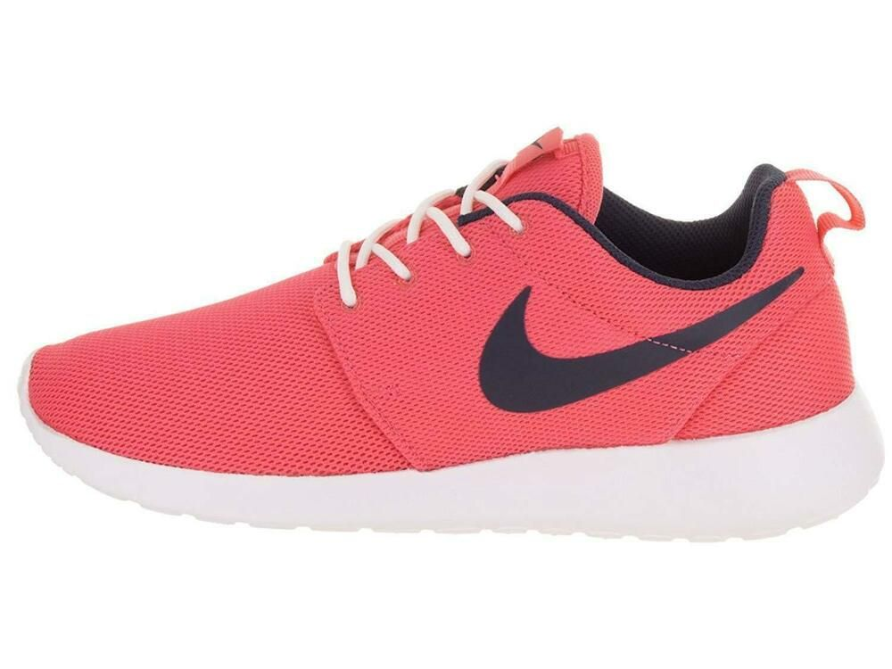 Nike Roshe One Womens Running Shoes 7.5 Sea Coral Obsidian