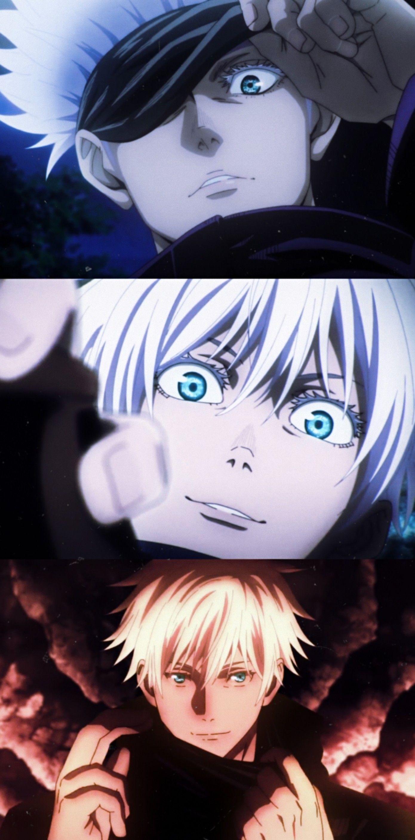 I Believe In Satoru Gojo S Supermacy Anime His Eyes Art