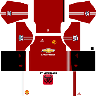 Pin On Manchester United Dream League Soccer Kits