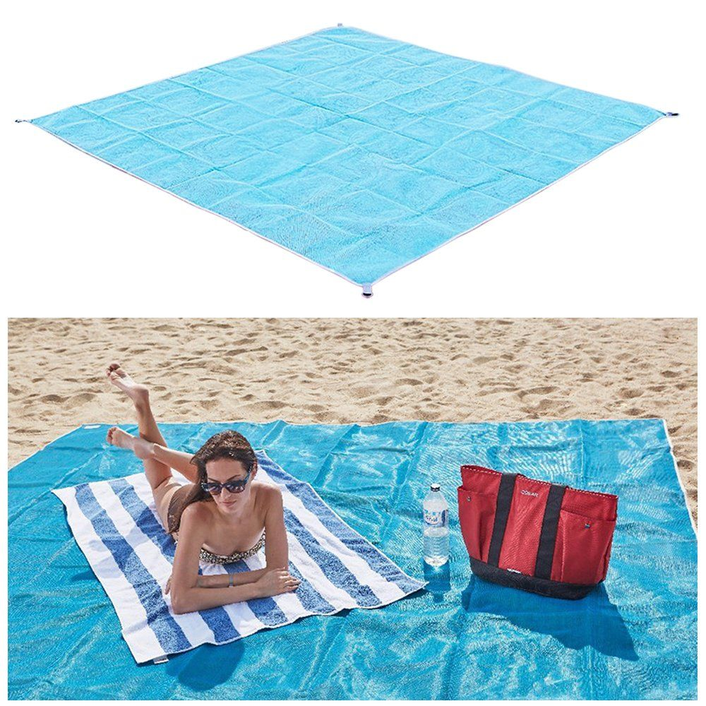 Family Beach Blanket: StarsTech Beach Blanket Sand Free Picnic Mat Dirt & Dust