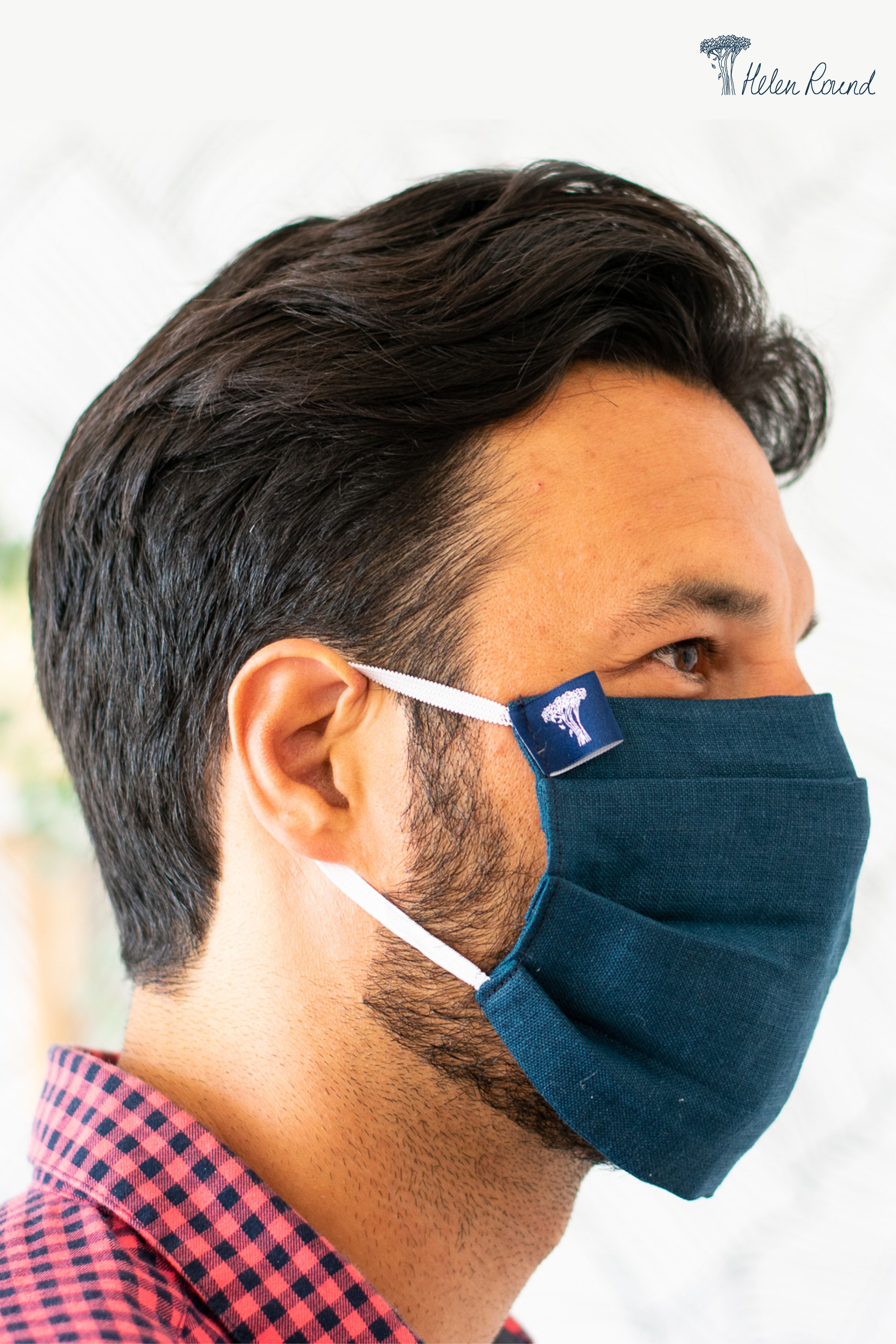 Photo of Handmade Linen Face Mask