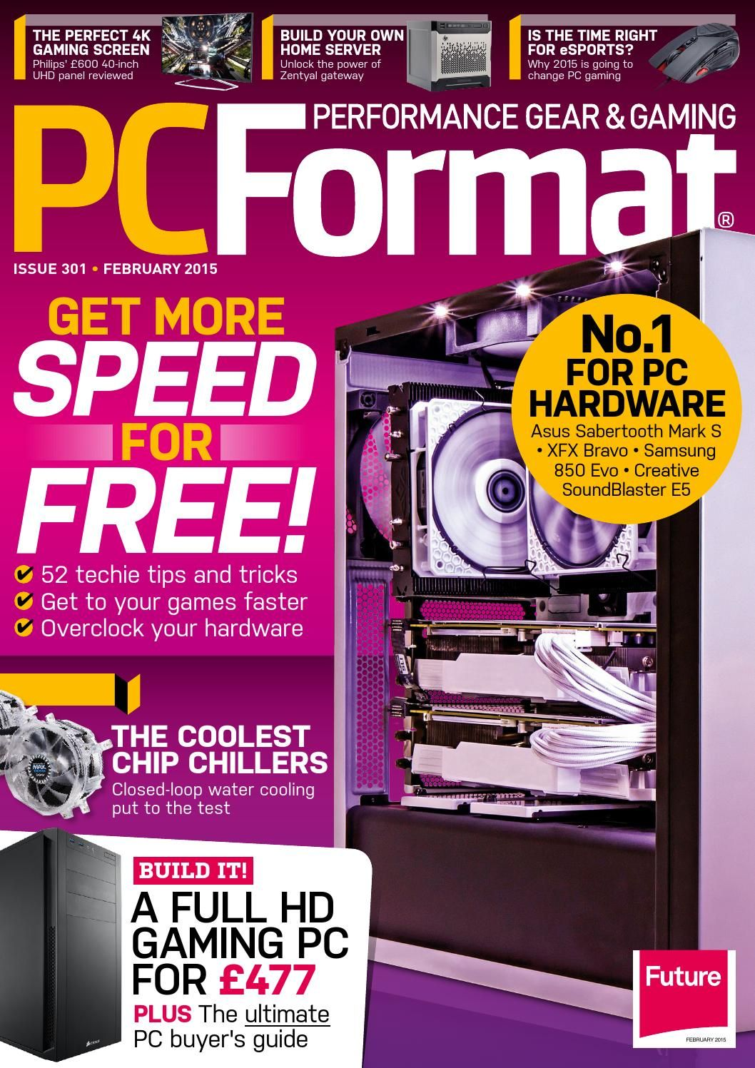 PC Format 301 Sampler Gadget magazine, Graphic card, Format