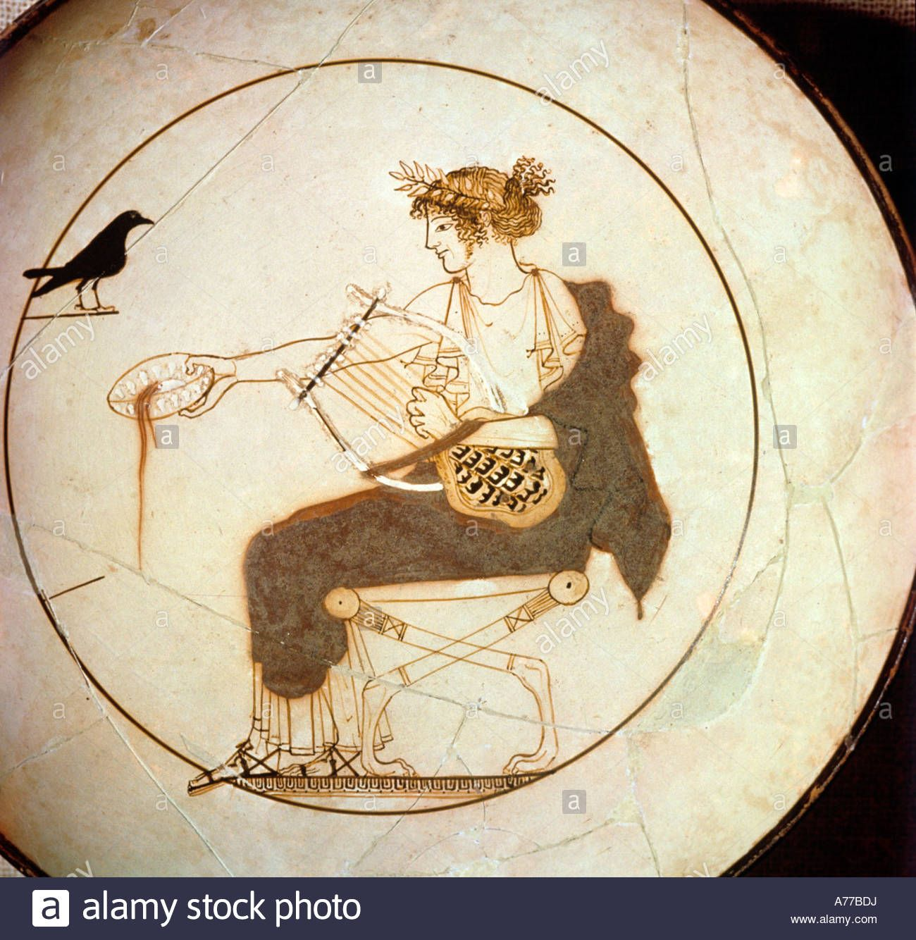 Ancient greek vase painting showing apollo pouring a libation ancient greek vase painting showing apollo pouring a libation delphi delphi museum reviewsmspy
