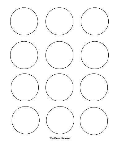 Circle Templates Small 2 Inch Shapes Pdf Onedrive Printable Label Templates Circle Template Round Labels