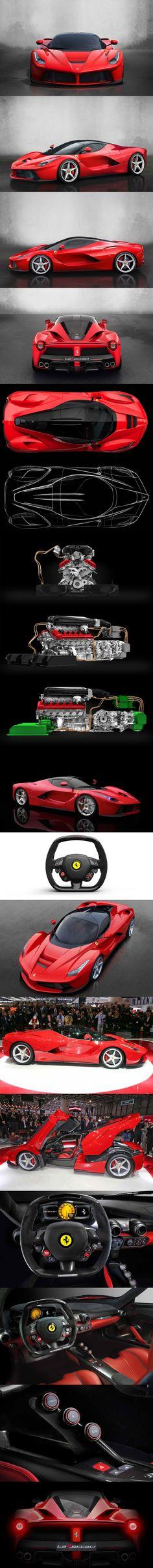 Ferrari devela su nuevo súper deportivo de 963 CV 'LaFerrari'