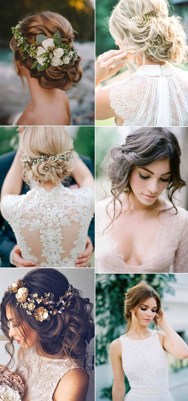 beautiful tousled wedding hairstyles that we love | b&e