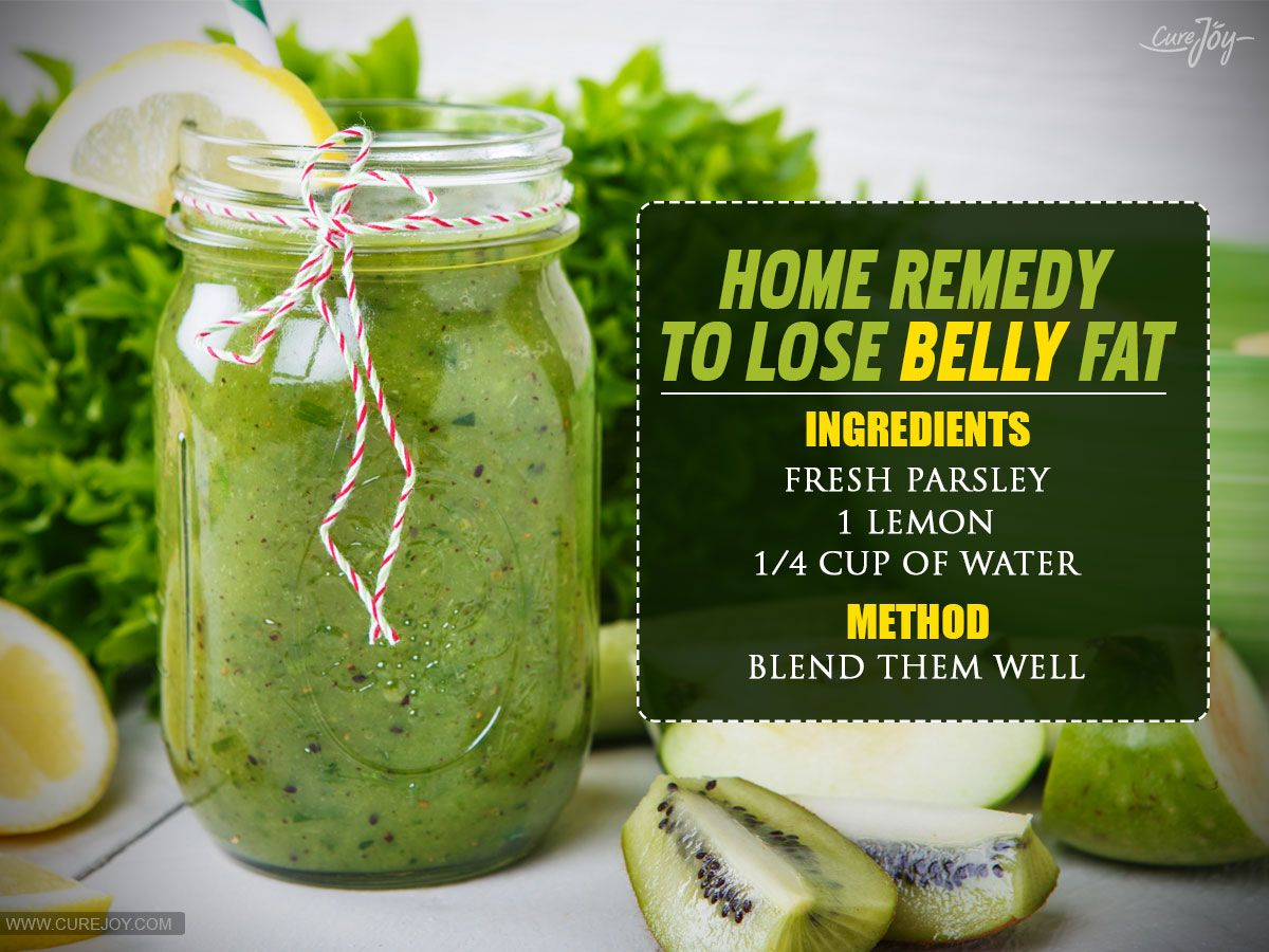 Simple Home Remedies To Lose Weight And Belly Fats Fast