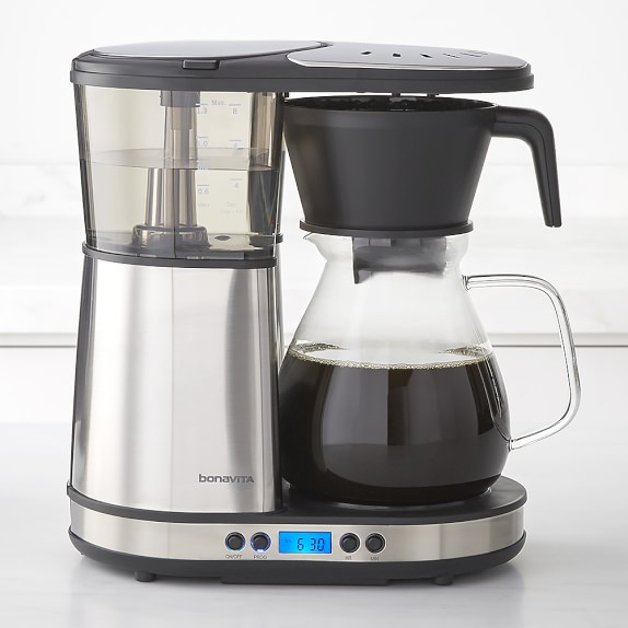 Bonavita 8Cup Coffee Brewer with Glass Carafe Williams
