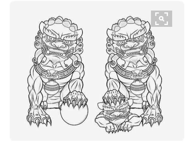 pin by gerben remmerts on foo dog pinterest foo dog tattoo and traditional japanese tattoos. Black Bedroom Furniture Sets. Home Design Ideas
