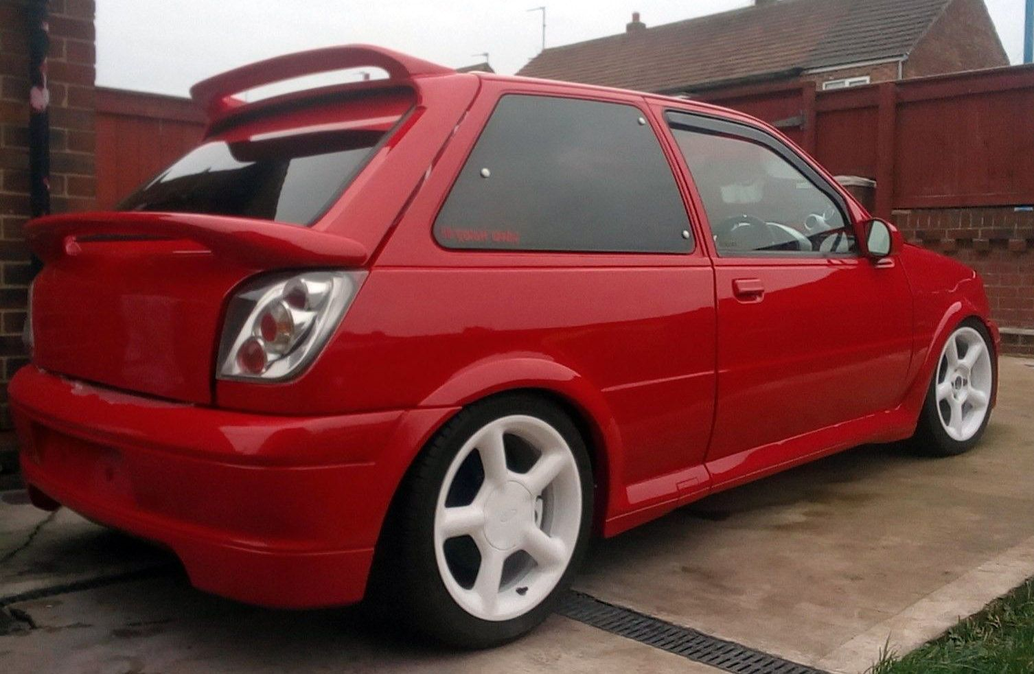 Genuine Fiesta RS Turbo... Unfinished Zetec Turbo Project