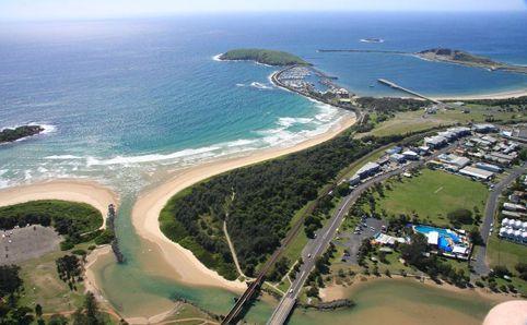 Park Beach In Coffs Harbour Nsw
