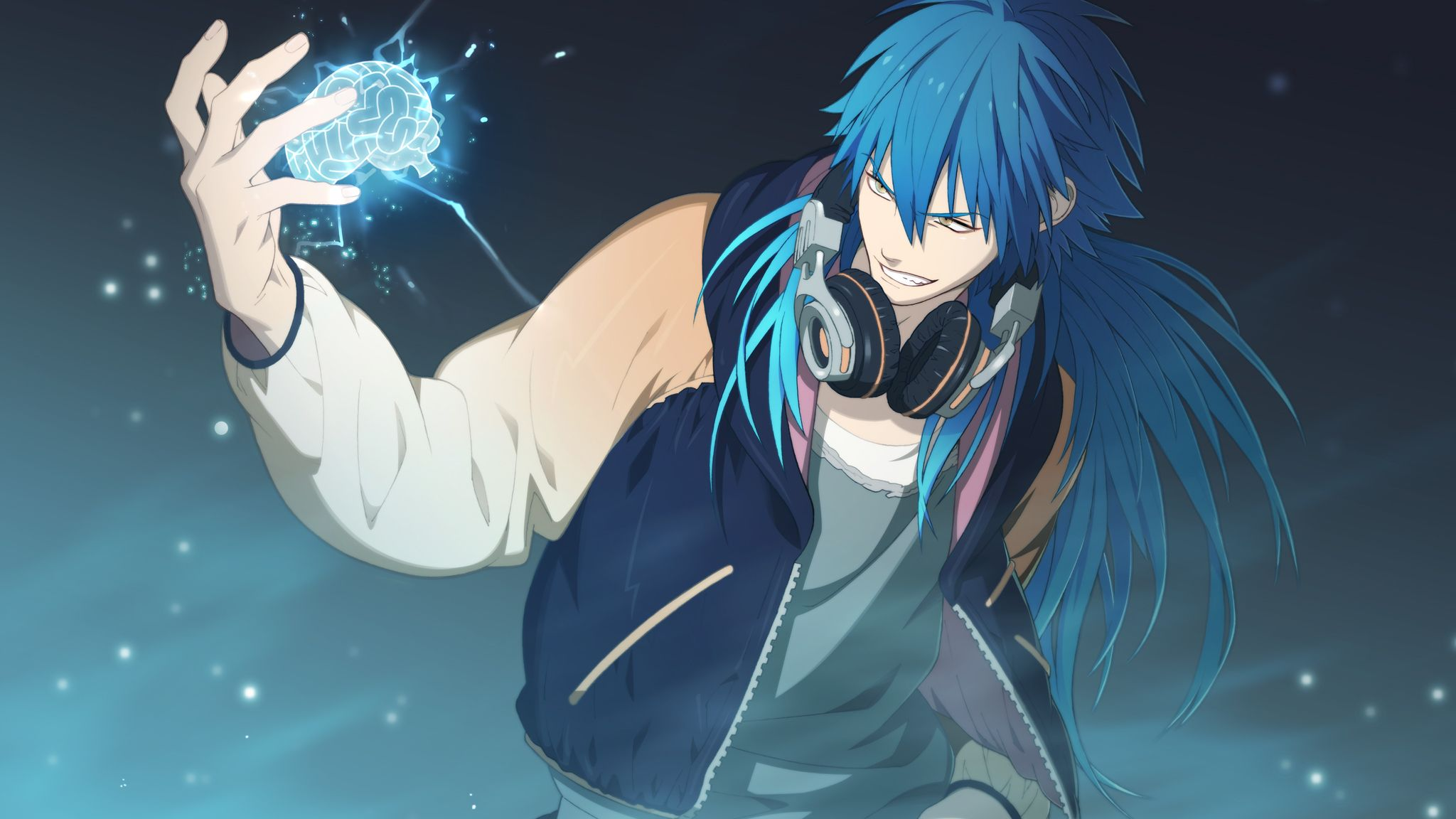 Aoba Using His Scrap Power In A Game Of Rhyme Except That He