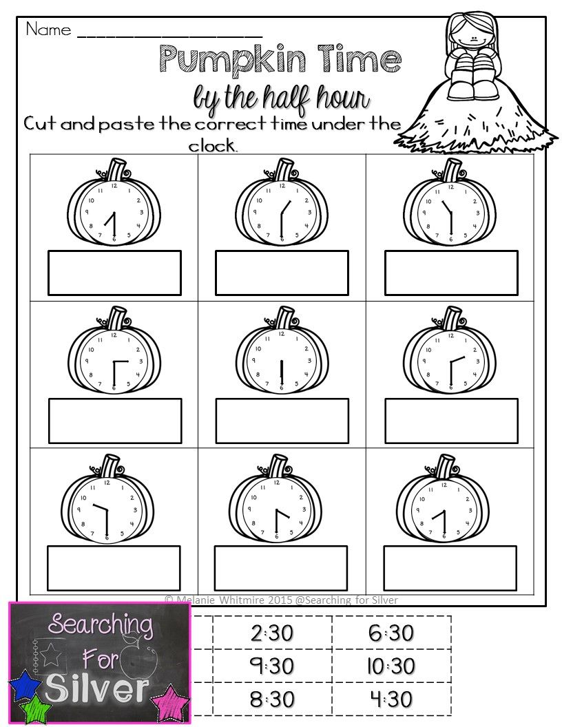 FALL Math Packet for FIRST GRADE. Fun activities for a lot