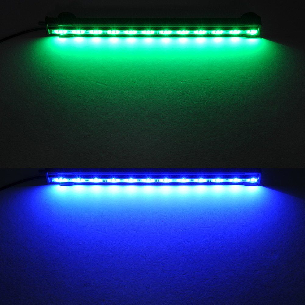 Amazon Com Crzdeal Underwater Aquarium Led Light Bar Flood Light Strip Airstone For Fish Tank 12 Mult Aquarium Lighting Aquarium Led Aquarium Lighting