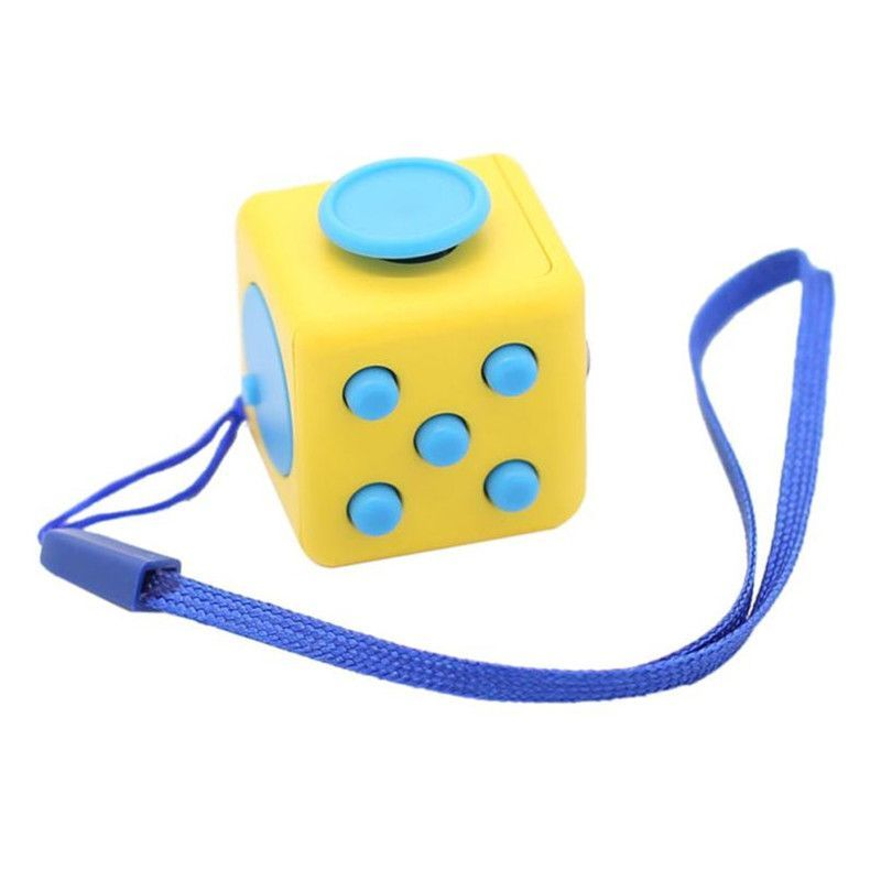 Fun 6 Sided Fidget Cube For Anxiety Attention Stress Relief ADHD