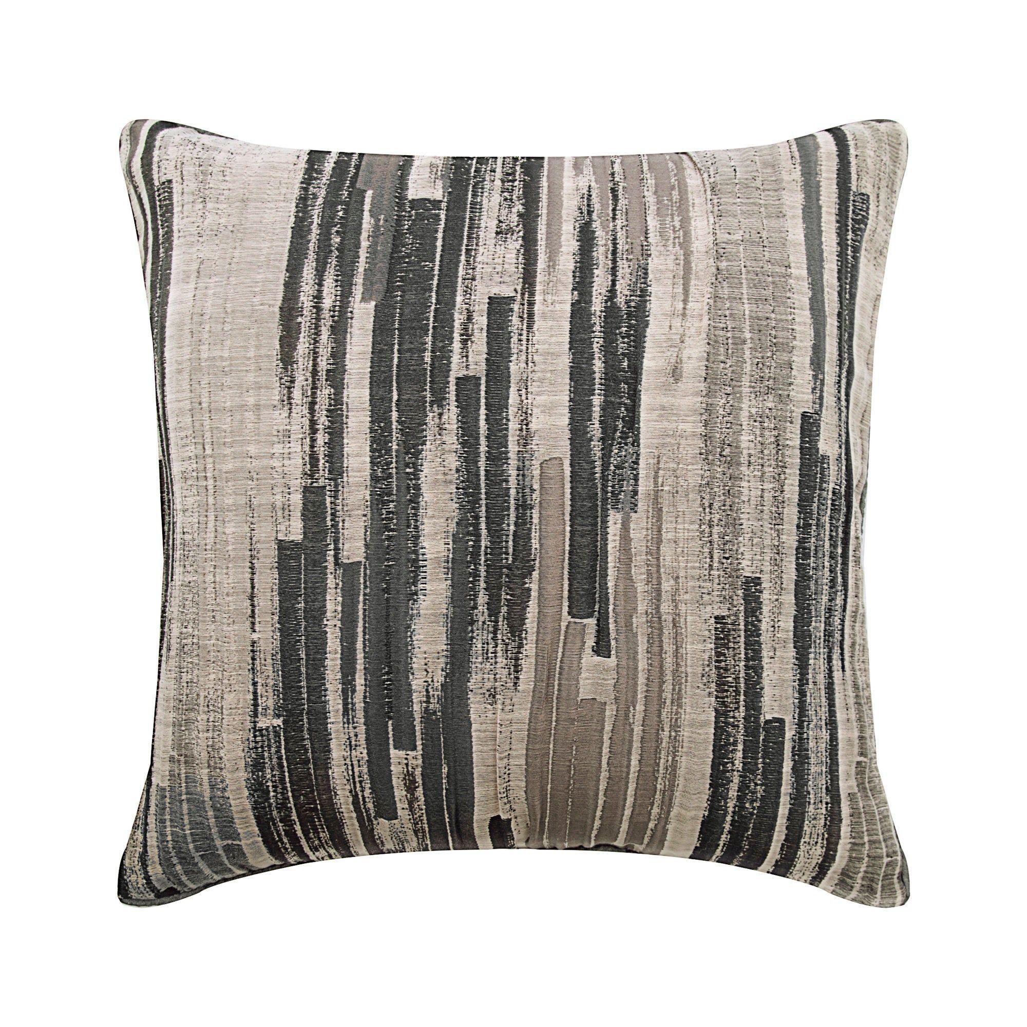 grey sofa cushion silk throw