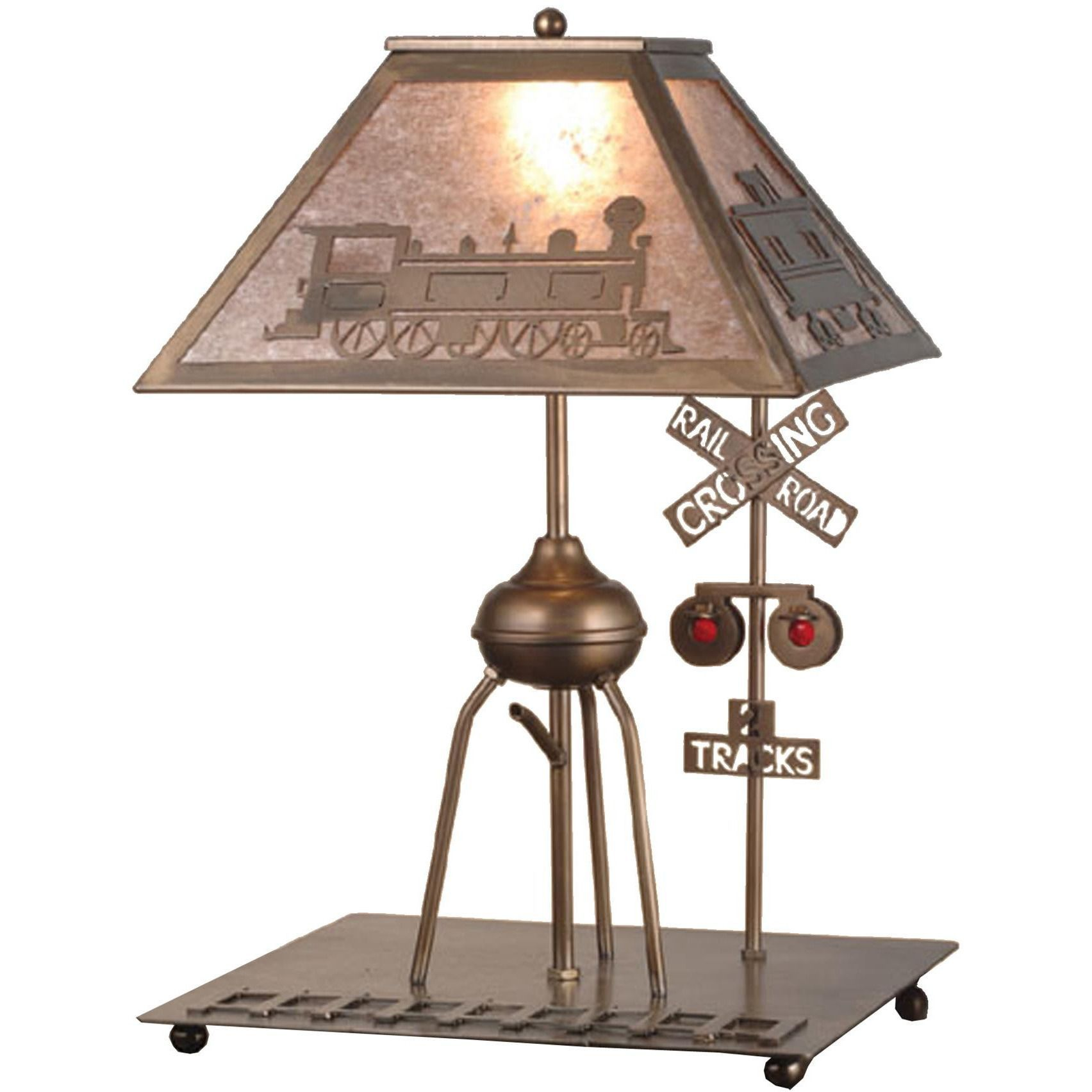 245 inch h train table lamp train table and products 245 inch h train table lamp geotapseo Gallery